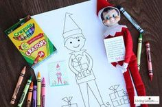 Elf-on-shelf-coloring-sheet