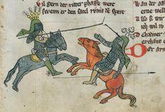 Thomasin <Circlaere>  Welscher Gast (G) Ostfranken (?), 1340 Cod. Memb. I 120 Gotha, Forschungsbibliothek  Folio 25r