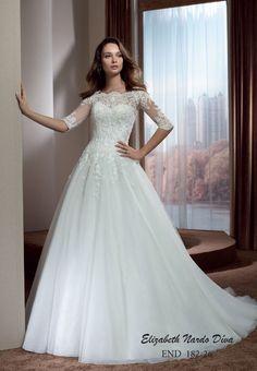 Menyasszonyi ruha Elizabeth Nardo Díva 182-26