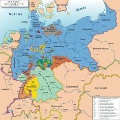 北ドイツ連邦 ビスマルク 普墺戦争 1867年