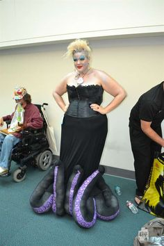 Ursula - Lurve this as a potential future costume idea.