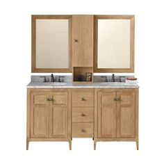 """Ronbow 051724-3-R01_Kit_1 Briella 60"""" Free Standing Double Vanity Set (324.075 RUB) ❤ liked on Polyvore featuring home, home improvement, plumbing, double, fixture and vanity"""