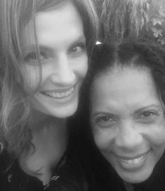 """""""The world is not always black and white. But, it sure can be beautiful! 😘 love you, girl! Castle Tv, Black N White Images, Black And White, Kate Walsh, Castle Beckett, Greys Anatomy Cast, Z Photo, Beautiful Inside And Out, Hair"""