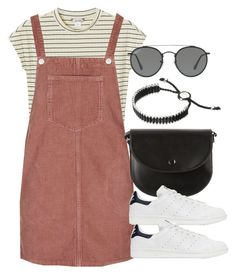 Sin título #12271 by vany-alvarado on Polyvore featuring polyvore, fashion, style, Topshop, Monki, adidas Originals, Links of London, Ray-Ban and clothing