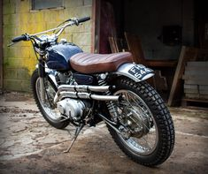 Sweet Honda CL77 custom Scrambler by Ross @ TheBikeShed