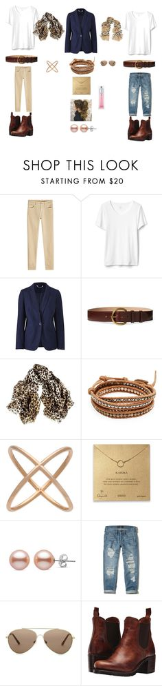 """London trip"" by marta-garborg on Polyvore featuring Closed, Polo Ralph Lauren, Black, Chan Luu, Eva Fehren, Hollister Co., Burberry and Frye"