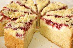 Strawberry Cream Cheese Coffee Cake- This looks amazing!