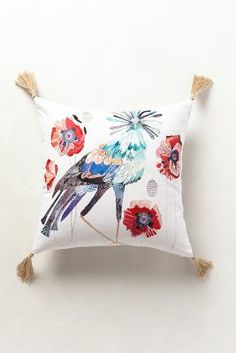 Peafowl Pillow