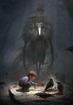 Dark Fantasy Art, Fantasy Artwork, Fantasy Kunst, Arte Horror, Horror Art, Art Sinistre, Arte Obscura, Creepy Art, Monster Art