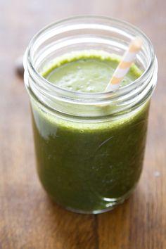 Fresh Pressed Kale, Cucumber, Apple & Ginger Juice