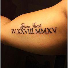 roman-numeral-tattoos-45