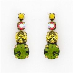 Sorrelli Juicy Fruit Earrings #jewelry #DropEarrings #crystal