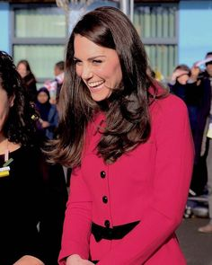 Catherine, Duchess of Cambridge attends the Place2Be Big Assembly With Heads Together for Children's Mental Health Week at Mitchell Brook Primary School on February 6, 2017 in London, England.