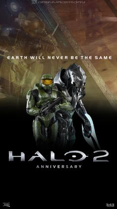 Halo 2: Anniversary Poster by DANYVADERDAY