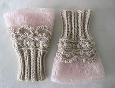 crochet+ knitting: beautiful but webpage is in Russian. Maybe it's time I learned how to read a crochet chart.fingerless knit and crochet gloves.love these victorian inspired wrist warmers - knit and crochet Almost encourages me to learn to crochet, Crochet Mittens, Crochet Gloves, Knit Or Crochet, Crochet Pattern, Free Pattern, Mittens Pattern, Sweater Mittens, Irish Crochet, Wrist Warmers