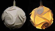 Lampada Origami Di Edward Chew : Die besten bilder von beleuchtung