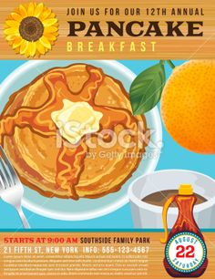 16 best pancake fundraiser templates images on pinterest event