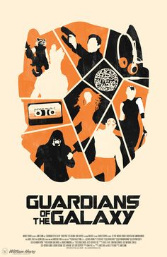 Guardians of the Galaxy - movie poster - William Henry