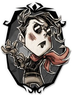 Don't Starve Together - Wes Shadow Art