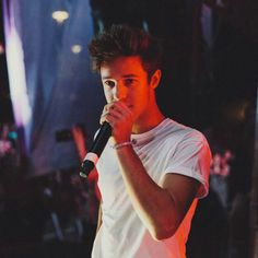 (Fc: Cameron Dallas) Hey I'm Cameron! Call me Cam if you want. I'm 18 and single. I'm in Magcon and I'm a YouTuber/vineR! Nash is my best friend. Melina and Beth are my sisters hurt them and I kill you. Calum's my brother! Introduce?