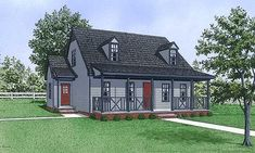 CapeCod House Plan chp-24277 at COOLhouseplans.com