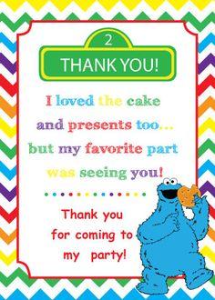 Sesame Street invites Cookie Monster birthday by ParisGraphics