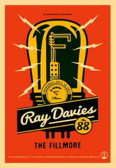 GigPosters.com - Ray Davies - 88, The