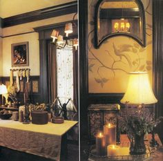 Practical Magic house dining