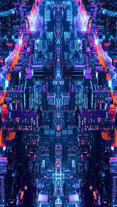 City Lights At Night Mobile Wallpaper (iPhone Android Samsung Pixel Xiaomi) Cyberpunk City, Cyberpunk Aesthetic, City Aesthetic, Futuristic City, Glitch Wallpaper, City Wallpaper, Mobile Wallpaper, City Lights At Night, Night City