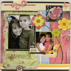 Print Digital Elements to use on Paper Scrapbook Pages