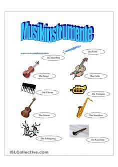 musik in der grundschule lesegitter musikinstrumente musik grundschule pinterest musik. Black Bedroom Furniture Sets. Home Design Ideas