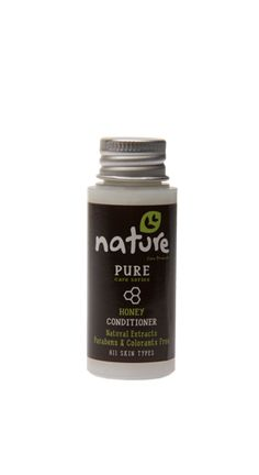 NATURE+hotel+amenities+/+PURE+care+series+35ml    The+natural+conditioner+with+honey+extract+of+NATURE+pure+care+series,+in+35ml+packaging,+can+be+used+by+hotels+in+the+«amenities»+category.+Enriched+with+wheat+protein+it+strengthens,+rebuilds,+deeply+nourishes+hair,+providing+shine+and+intensity+while+(hair)+remains+soft+and+silky.+It+is+suitable+for+all+hair+types,+contains+natural+extracts+and+it+is+parabens+&+colorants+free.