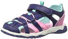 carter's Premier2G Sandal (Toddler/Little Kid). Quick-dry EVA insole. Protective toe guard. Power strap and bungee lacing for optimal fit. Locker loops for easy dressing. 100% man-made materials.