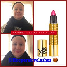 I that the #lipmodel from #TyraBeauty because it has a #touch of #glitter