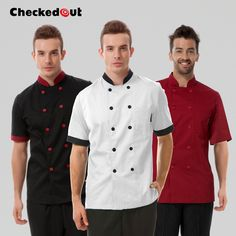 Made of high quality cotton. Due to the difference between different monitors, the picture may not reflect the actual color of the item. Waiter Uniform, Black Restaurant, Hotel Uniform, Restaurant Uniforms, Staff Uniforms, Costume, Summer Shorts, Work Wear, Chef Jackets