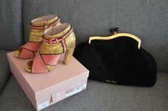 ow ow Miu miu glitter dream shoes