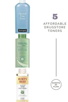 The best drugstore toners for oily, acne prone skin