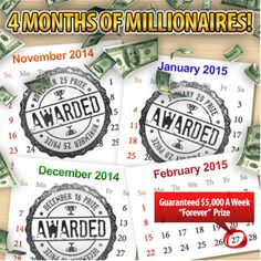 Months of Millionaires_Forever Prize