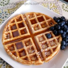 Classic Waffles- remember to separate egg whites
