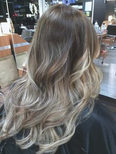 Love this ash blonde and white blonde ombré! Perfection!