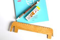 wooden elephant ruler measures in cm