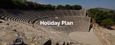 Holiday Plan is an independent travel agency based in Athens, Greece, providing travelers with memorable travel experience to Greek destinations. We understand how precious your holiday are! That's why we will do our best to make sure that your trip will be unforgettable!