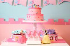Disney Princess Birthday Luncheon!
