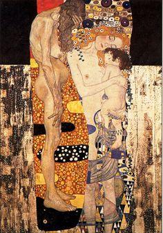 Les trois âges  - Klimt