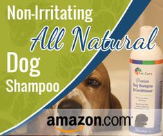 Natural Dog Shampoo from BVH Pet Care Promises Not to Irritate or Redden Skin