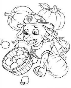 Patrulha Canina desenhos para pintar, colorir, imprimir! - Espaço Educar desenhos para colorir