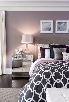 Jane Lockhart On. Bedroom Wall Colour IdeasPurple ...