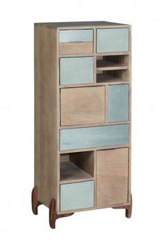 Cabinet Pasadena, L49xl35xh111 cm #homedecor #homedesign #livingroom Bookcase, Shelves, House Design, Cabinet, Living Room, Mango, Home Decor, Clothes Stand, Manga