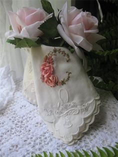 Hand Embroidery Monogram Letter C Yes please, that's for me!!!!!!!!!!!!!!!