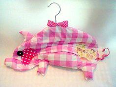 Pig Peg Clothespin Bag by BirdieGingham on Etsy - gotta get this
